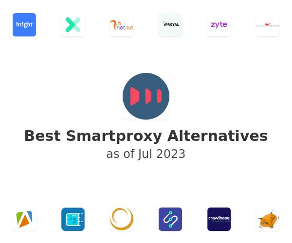 Best Smartproxy Alternatives