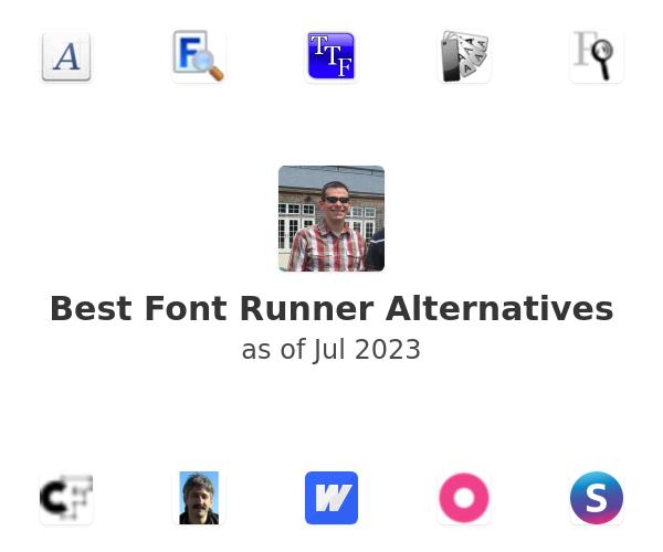 Best Font Runner Alternatives