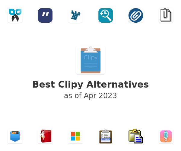 Best Clipy Alternatives