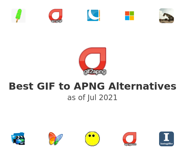 Best GIF to APNG Alternatives