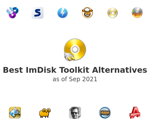 Best ImDisk Toolkit Alternatives