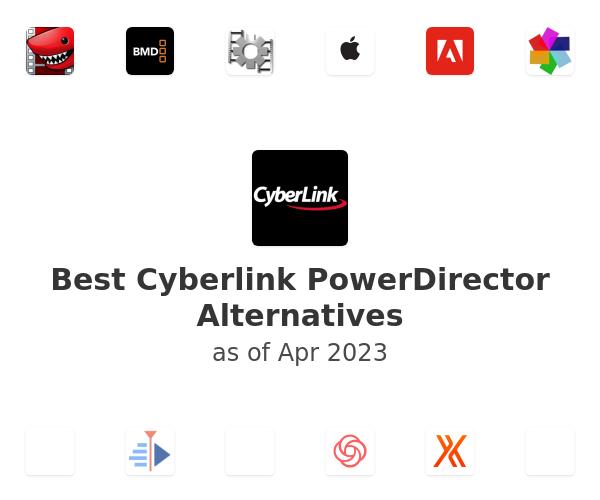 Best Cyberlink PowerDirector Alternatives