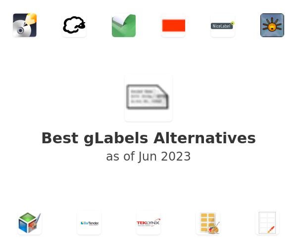 Best gLabels Alternatives