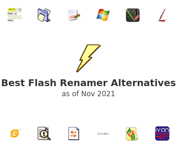 Best Flash Renamer Alternatives