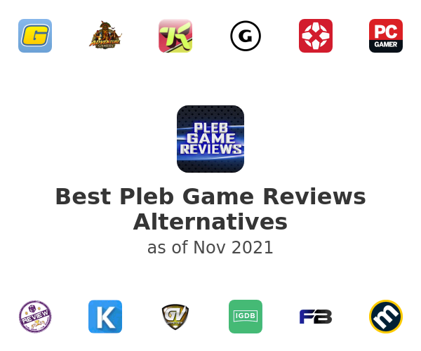 Best Pleb Game Reviews Alternatives