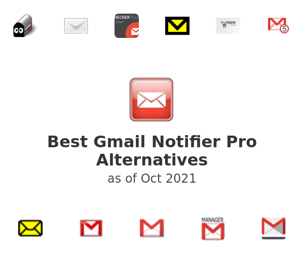 Best Gmail Notifier Pro Alternatives
