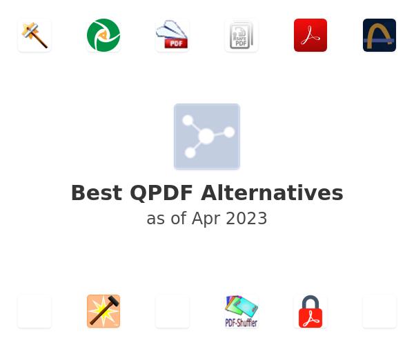 Best QPDF Alternatives
