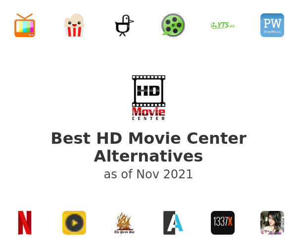 Best HD Movie Center Alternatives