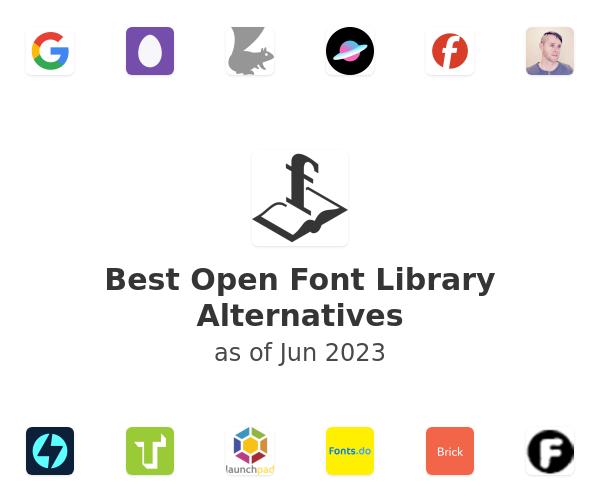 Best Open Font Library Alternatives