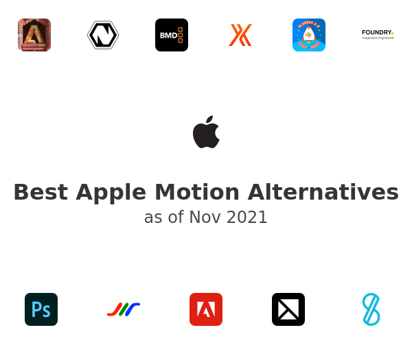 Best Apple Motion Alternatives