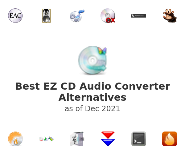 Best EZ CD Audio Converter Alternatives