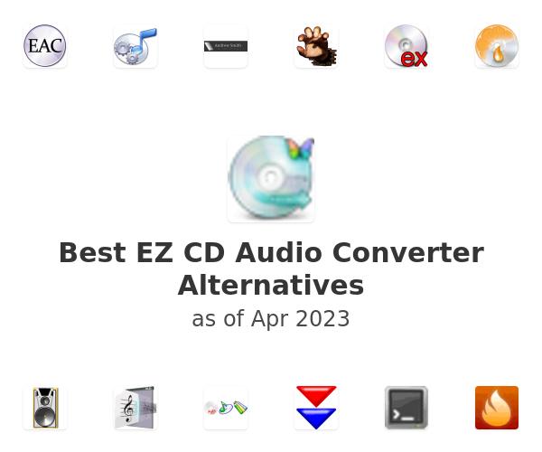 Best EZ CD Audio Converter Alternatives