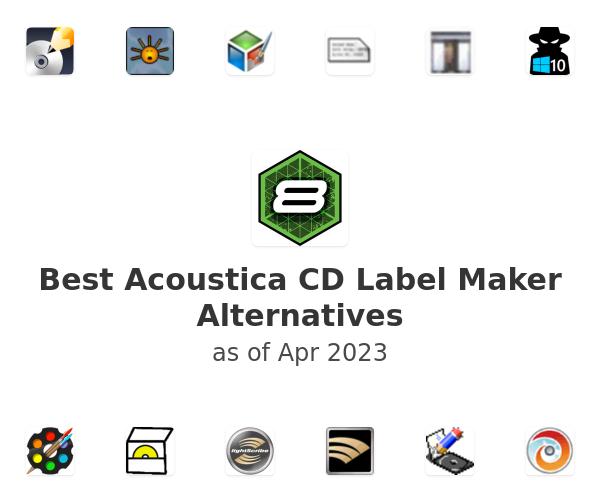 Best Acoustica CD Label Maker Alternatives
