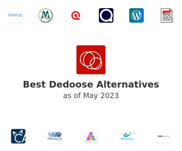 Best Dedoose Alternatives