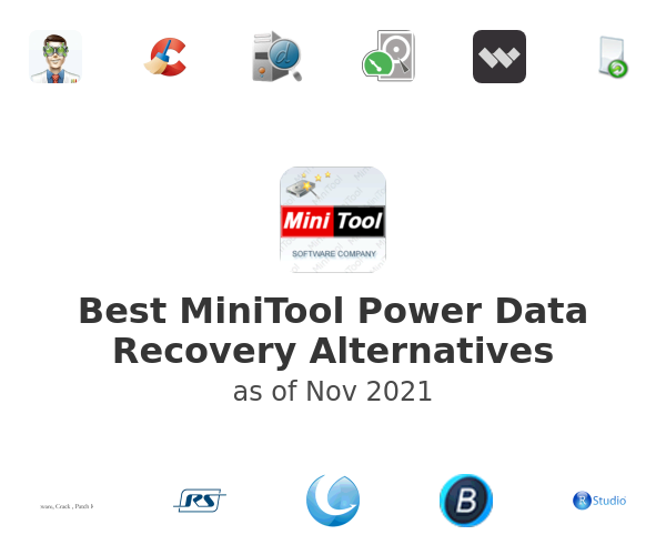 Best MiniTool Power Data Recovery Alternatives