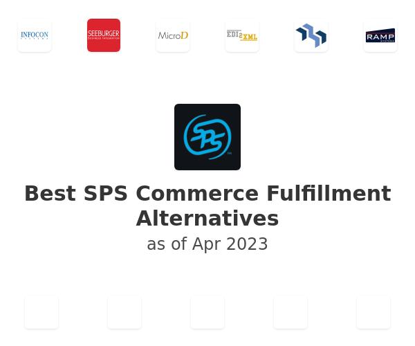 Best SPS Commerce Fulfillment Alternatives