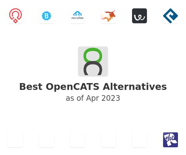 Best OpenCATS Alternatives