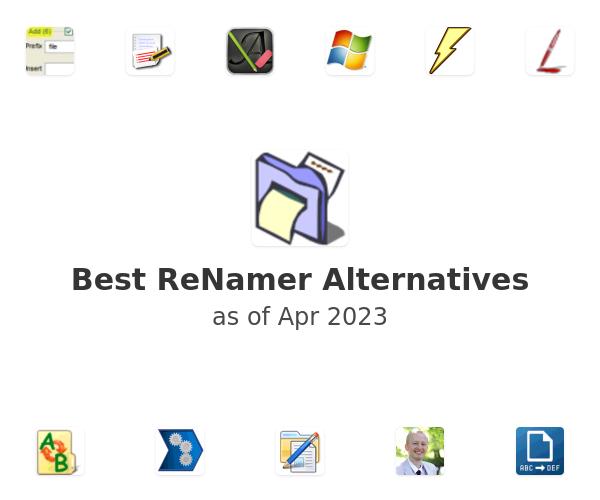 Best ReNamer Alternatives