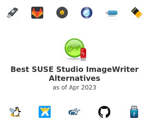 Best SUSE Studio ImageWriter Alternatives
