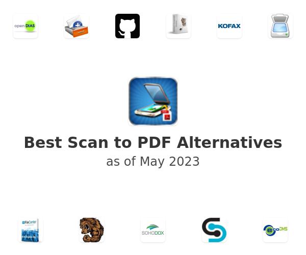 Best Scan to PDF Alternatives