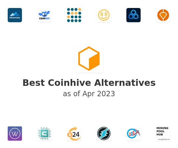 Best Coinhive Alternatives