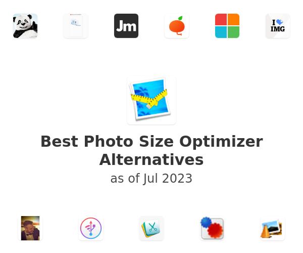 Best Photo Size Optimizer Alternatives