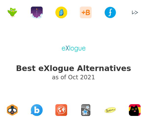 Best eXlogue Alternatives