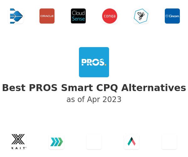 Best PROS Smart CPQ Alternatives