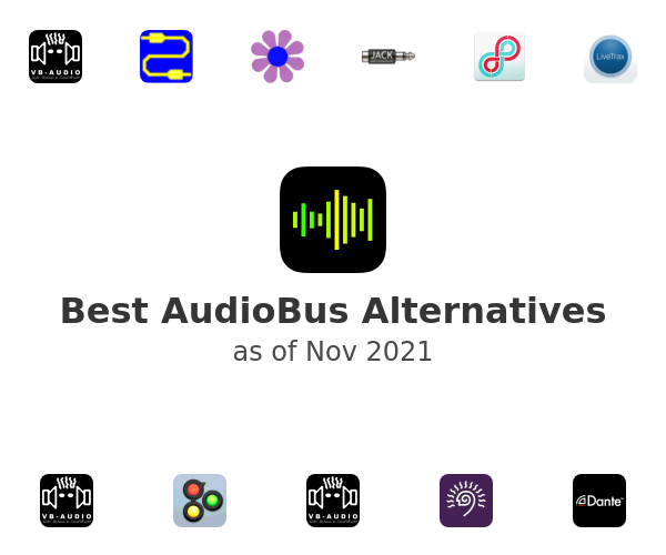 Best AudioBus Alternatives