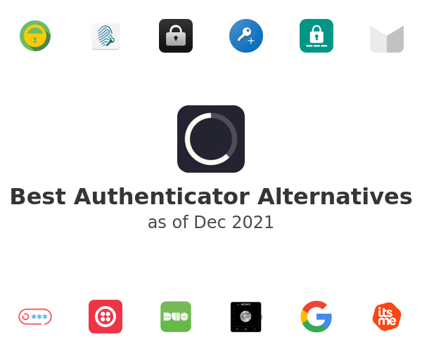 Best Authenticator Alternatives
