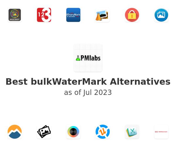 Best bulkWaterMark Alternatives