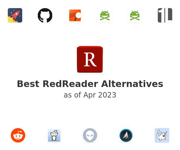 Best RedReader Alternatives