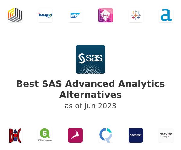 Best SAS Advanced Analytics Alternatives