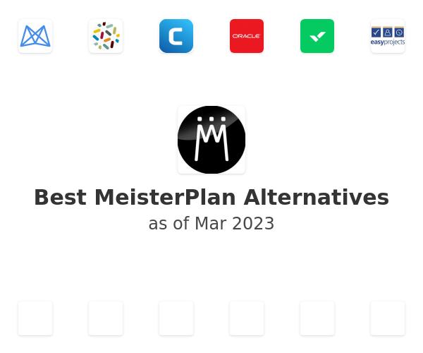Best MeisterPlan Alternatives