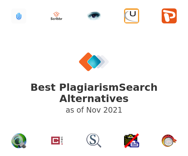 Best PlagiarismSearch Alternatives