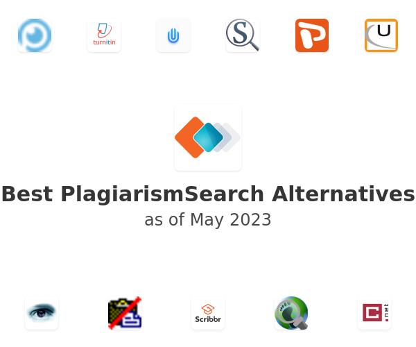 Best PlagiarismSearch Alternatives