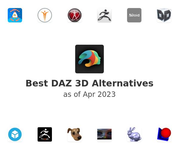 Best DAZ 3D Alternatives