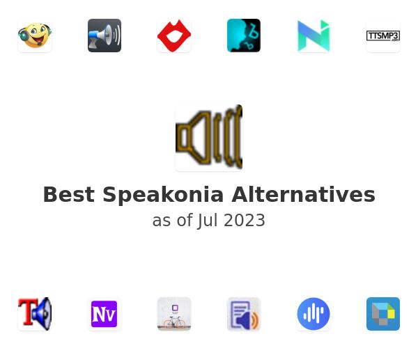 Best Speakonia Alternatives