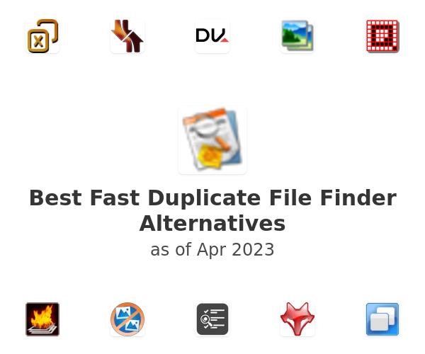Best Fast Duplicate File Finder Alternatives