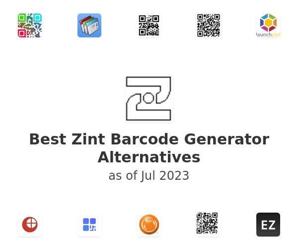 Best Zint Barcode Generator Alternatives