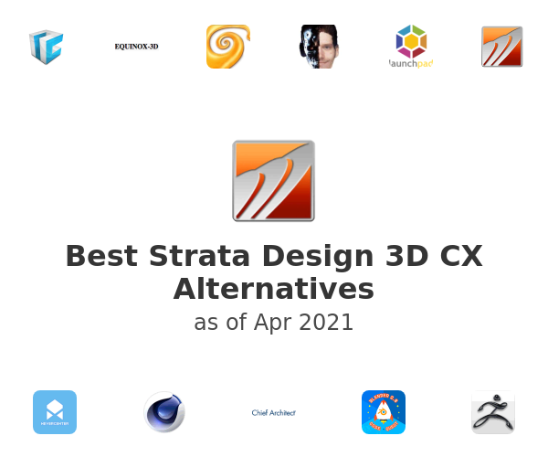 Best Strata Design 3D CX Alternatives