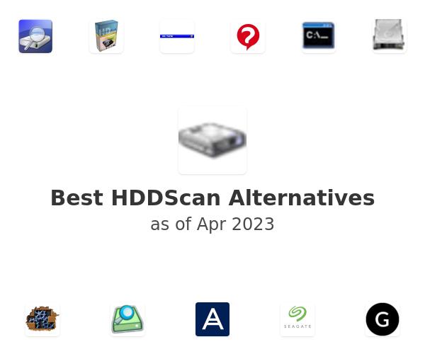 Best HDDScan Alternatives