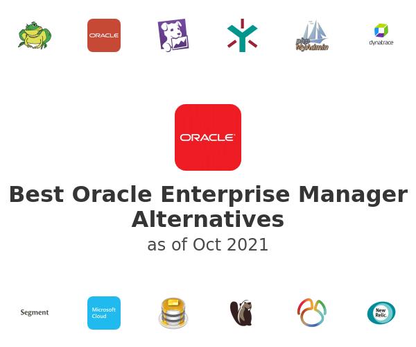 Best Oracle Enterprise Manager Alternatives