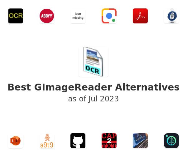 Best GImageReader Alternatives