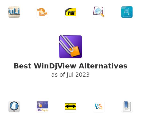Best WinDjView Alternatives