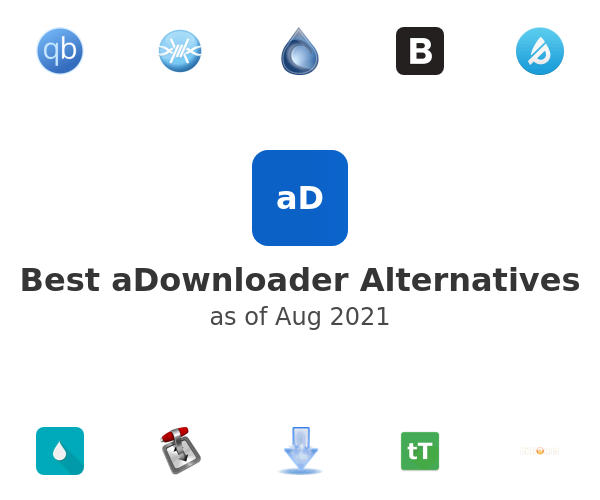 Best aDownloader Alternatives