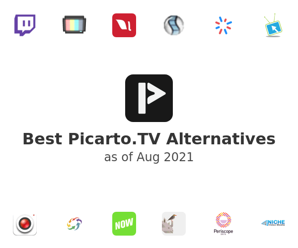 Best Picarto.TV Alternatives