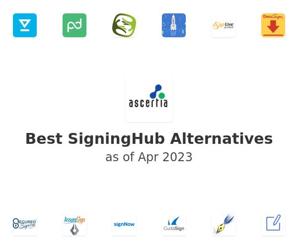 Best SigningHub Alternatives