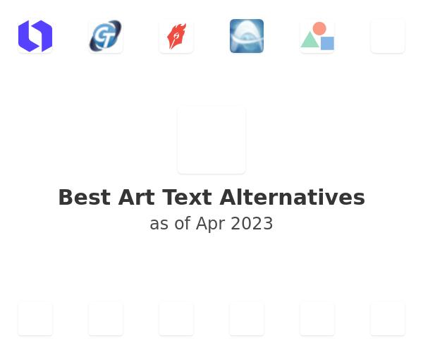 Best Art Text Alternatives