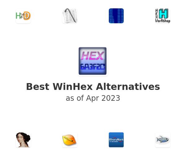 Best WinHex Alternatives
